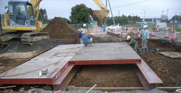 覆工板|敷鉄板(敷き鉄板)、建...